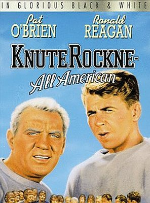 Poster of Knute Rockne All American