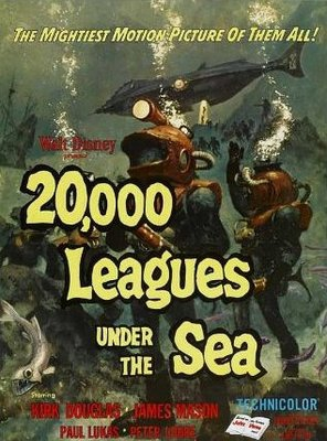 Poster of 20,000 Leagues Under the Sea