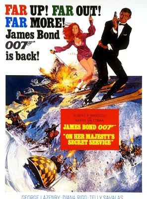 Poster of On Her Majesty's Secret Service