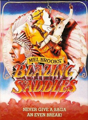 Poster of Blazing Saddles