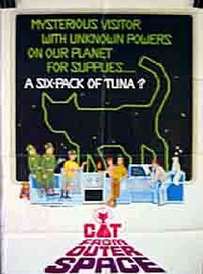 Poster of The Cat from Outer Space