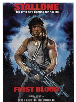 Poster of First Blood