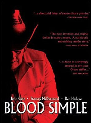 Poster of Blood Simple.