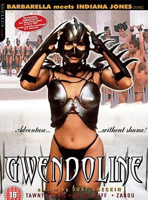 Poster of The Perils of Gwendoline in the Land of the Yik Yak