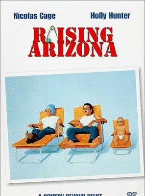 Poster of Raising Arizona