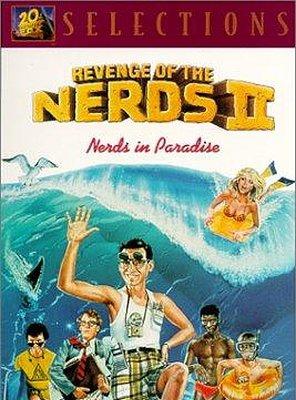 Poster of Revenge of the Nerds II: Nerds in Paradise