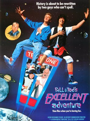 Poster of Bill & Ted's Excellent Adventure