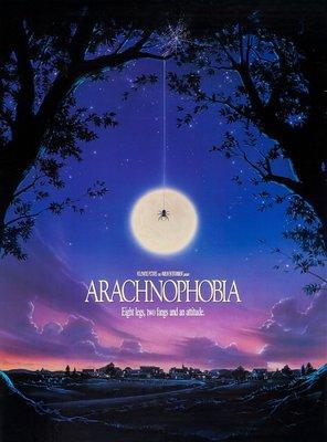 Poster of Arachnophobia