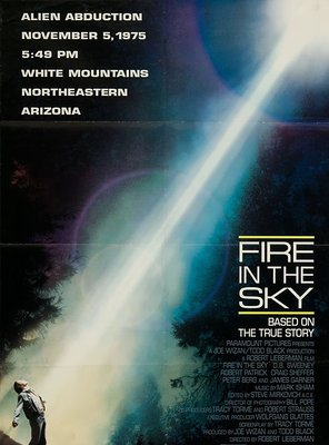 Poster of Fire in the Sky