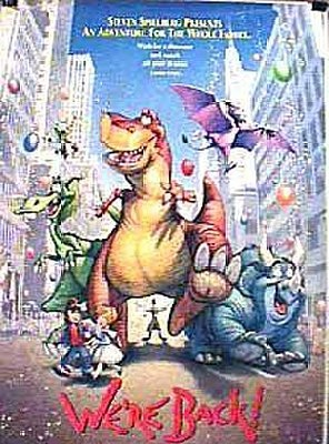 Poster of We're Back! A Dinosaur's Story