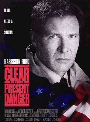 Poster of Clear and Present Danger