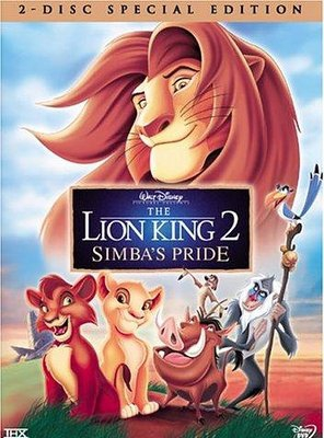 Poster of The Lion King 2: Simba's Pride