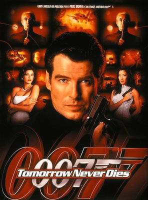 Poster of Tomorrow Never Dies