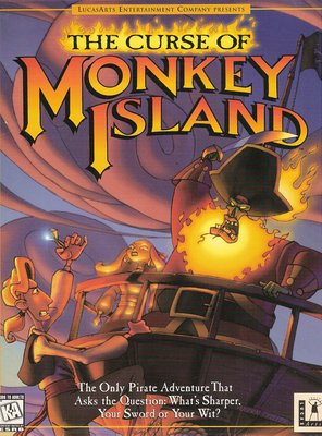 Poster of The Curse of Monkey Island