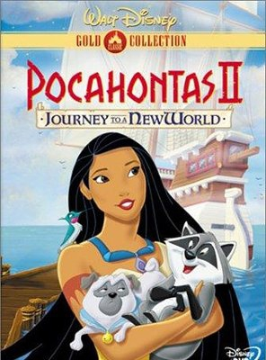 Poster of Pocahontas II: Journey to a New World