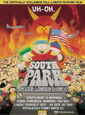 Poster of South Park: Bigger Longer & Uncut