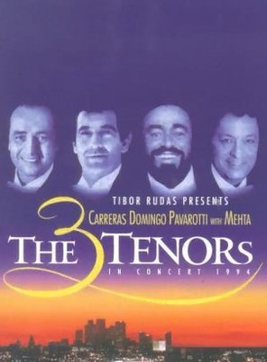 Poster of The 3 Tenors in Concert 1994