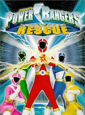 Poster of Power Rangers Lightspeed Rescue