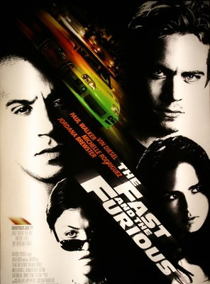 Poster of The Fast and the Furious