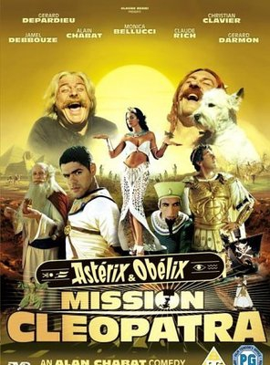 Poster of Asterix and Obelix Meet Cleopatra