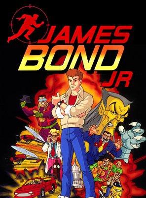 Poster of James Bond Jr.