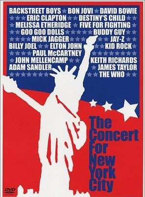 Poster of The Concert for New York City