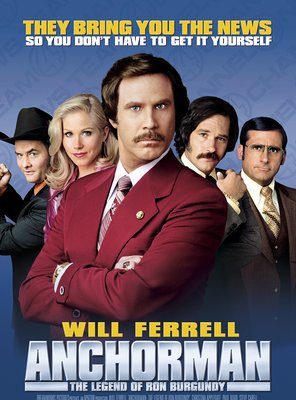 Poster of Anchorman: The Legend of Ron Burgundy