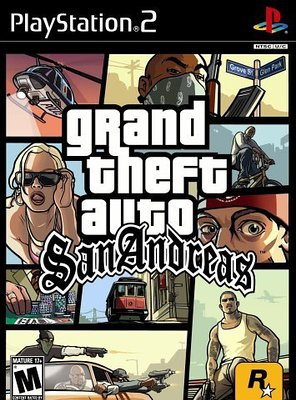 Poster of Grand Theft Auto: San Andreas