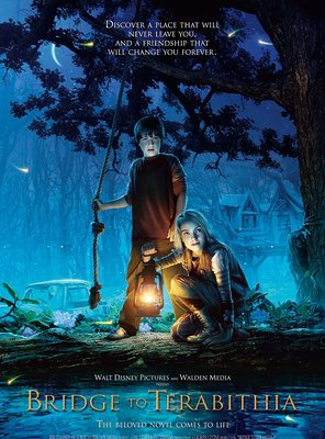 Poster of Bridge to Terabithia