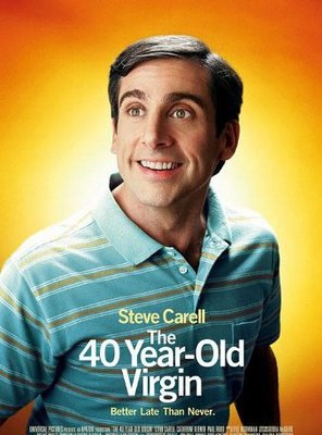 Poster of The 40-Year-Old Virgin