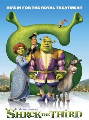 Poster of Shrek the Third