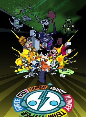 Poster of Super Robot Monkey Team Hyperforce Go!