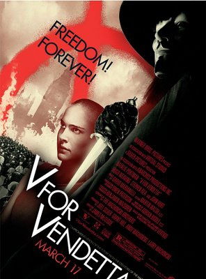 Poster of V for Vendetta