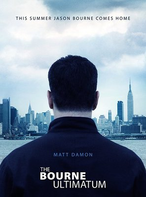 Poster of The Bourne Ultimatum