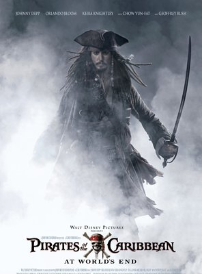 Poster of Pirates of the Caribbean: At World's End