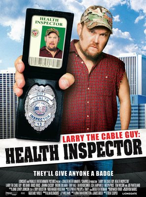 Poster of Larry the Cable Guy: Health Inspector