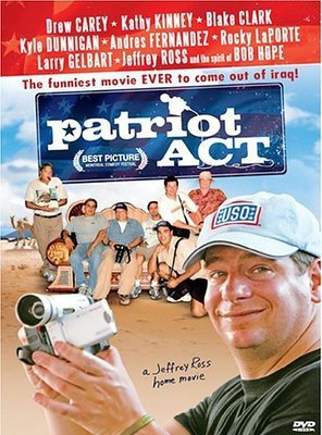 Poster of Patriot Act: A Jeffrey Ross Home Movie