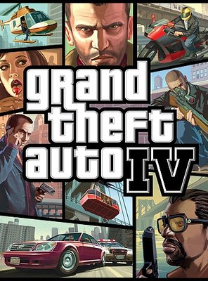 Poster of Grand Theft Auto IV