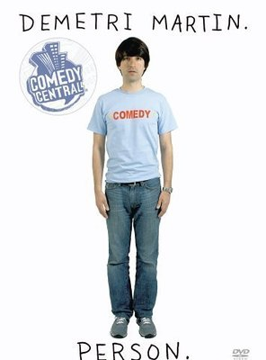 Poster of Demetri Martin. Person.