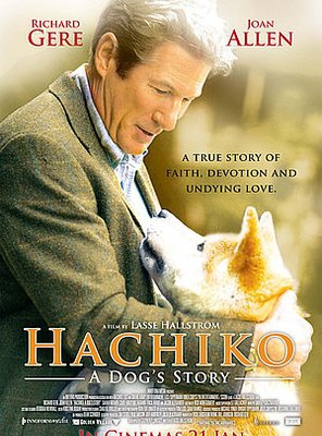 Poster of Hachi: A Dog's Tale