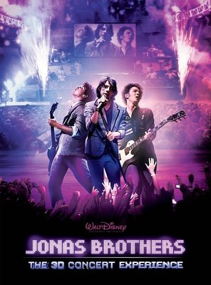Poster of Jonas Brothers: The 3D Concert Experience
