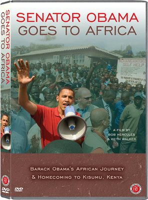 Poster of Senator Obama Goes to Africa