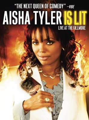 Poster of Aisha Tyler Is Lit: Live at the Fillmore