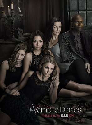 Poster of The Vampire Diaries