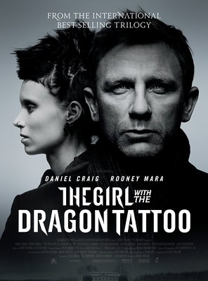 Poster of The Girl with the Dragon Tattoo
