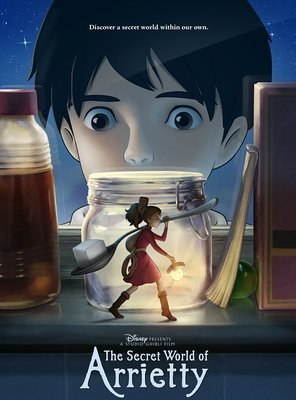 Poster of The Secret World of Arrietty