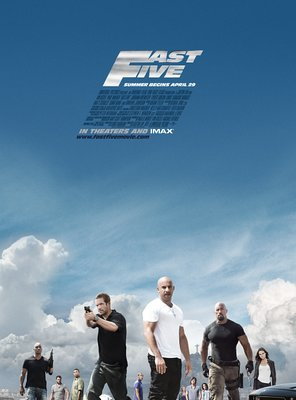 Poster of Fast Five