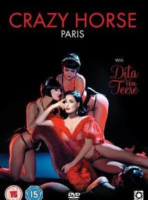 Poster of Crazy Horse, Paris with Dita Von Teese