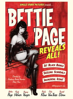 Poster of Bettie Page Reveals All