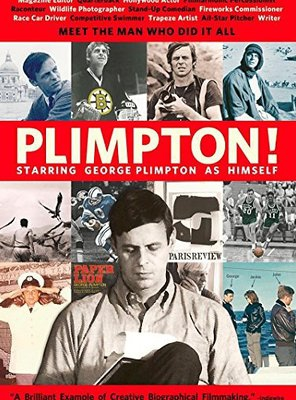 Poster of Plimpton! Starring George Plimpton as Himself